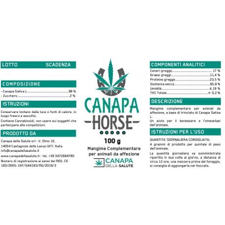 Canapa Horse 100 gr